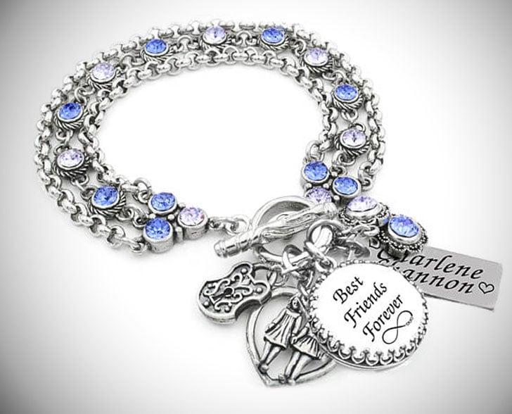 BFF Birthstone Charm Bracelets