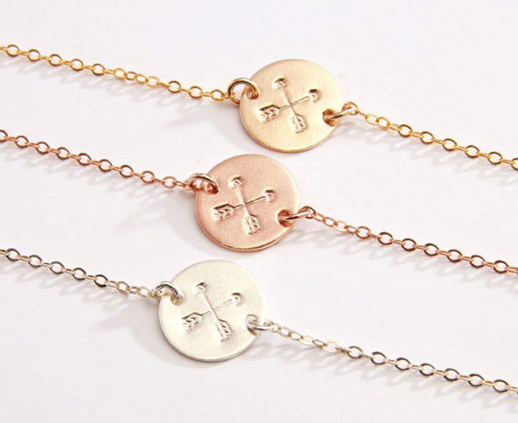 BFF Crossed Arrows Bracelets - Best Friend Bracelets
