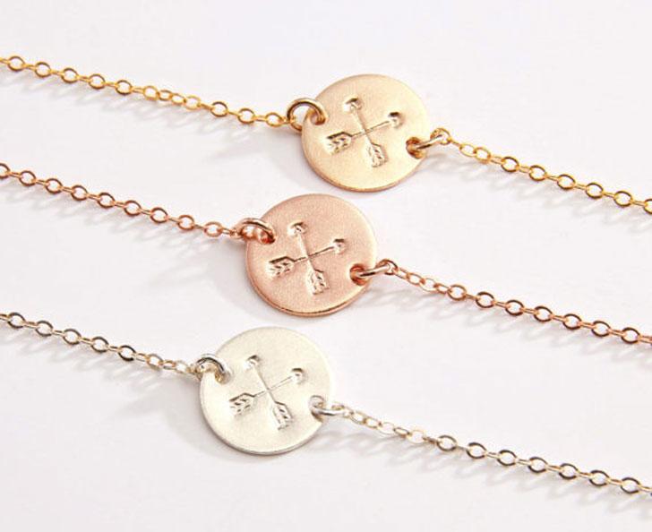 BFF Crossed Arrows Bracelets - Best Friend Bracelets