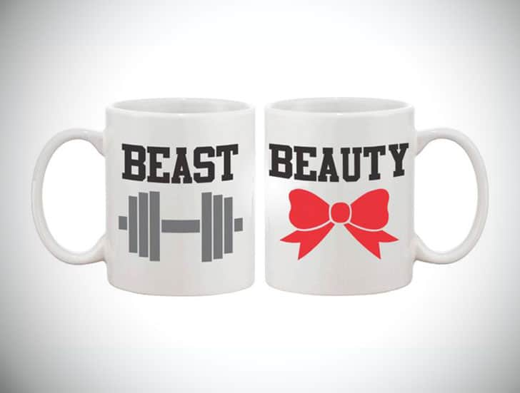 Beauty and Beast Couples Mugs