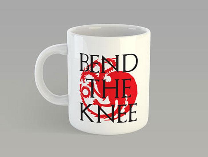 Bend The Knee Mug