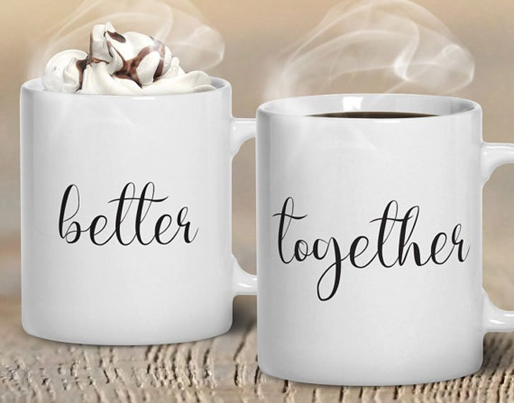 Better Together Couples Mugs