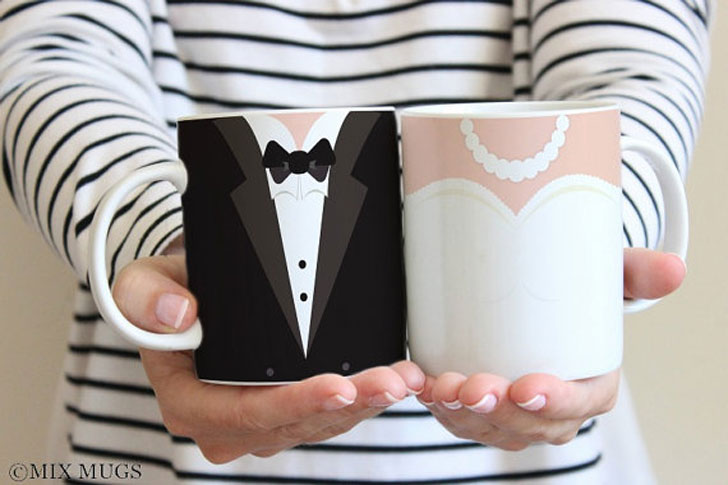Bride and Groom Mugs