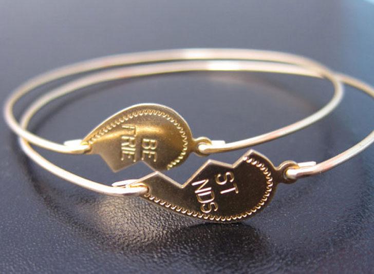 Broken In Half Heart Best Friendship Bracelets