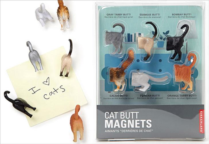 Cat Butt Fridge Magnets
