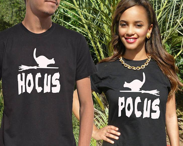 Couples Hocus Pocus Halloween T-Shirts