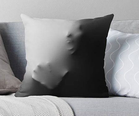 Creepy Halloween Pillows