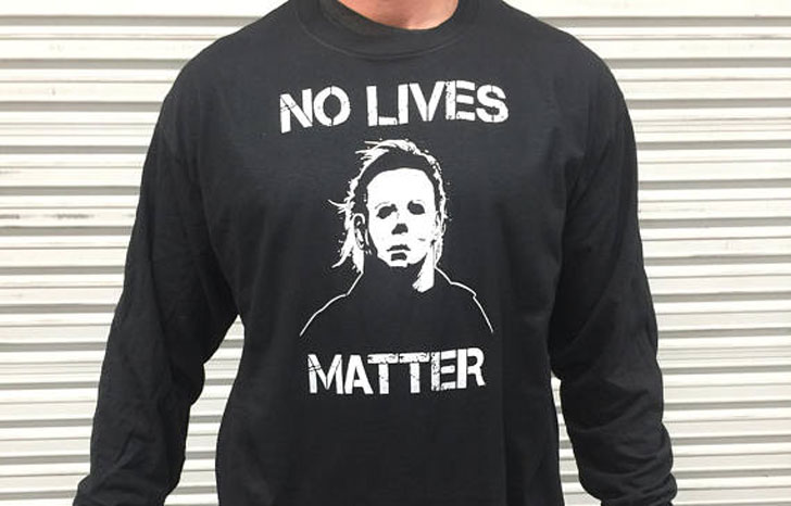 Creepy Michael Myers Halloween T-Shirt