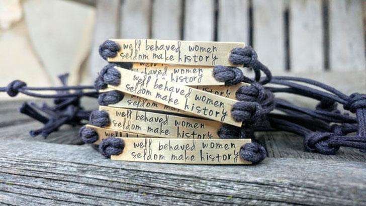 Custom Hand Stamped Friendship Bracelet