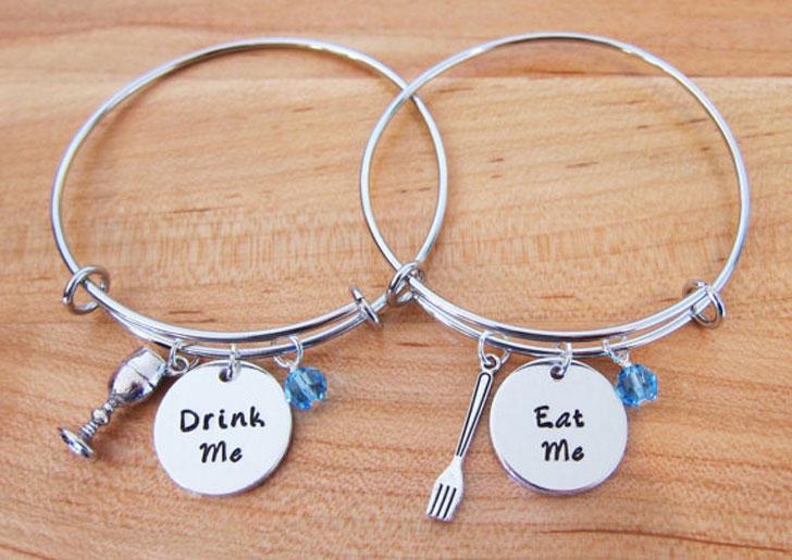 Eat and Drink Me BFF Bracelets