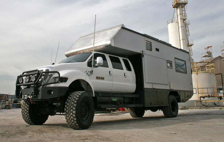 EcoRoamer 4x4 Expedition Vehicle - Expedition Vehicles