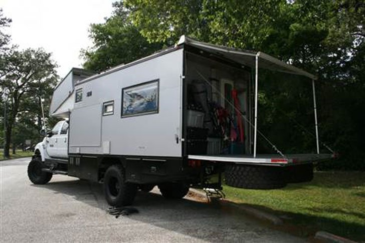 EcoRoamer 4x4 Expedition Vehicle