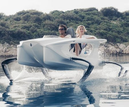 Electric Hydrofoil Boat