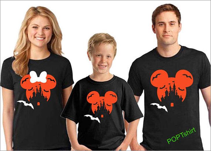Family Disney Halloween T-Shirts