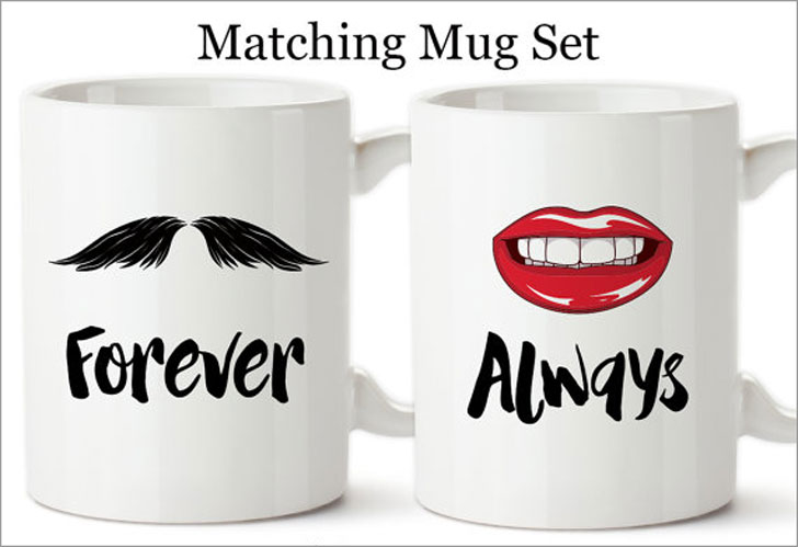 Forever Always Mug Set