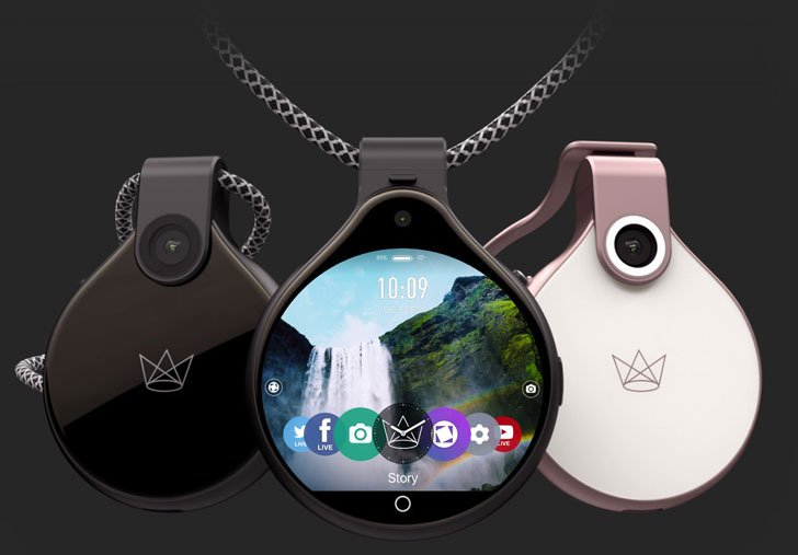 Front Row Wearable Camera