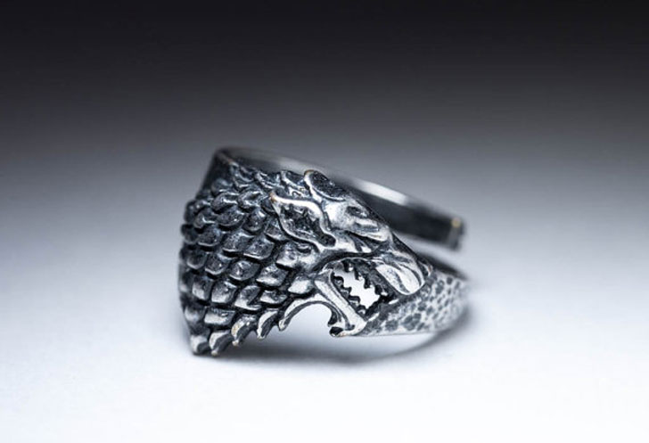 Unique Mens Rings - game of thrones ring