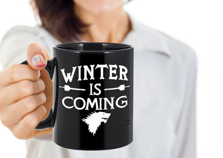Game of Thrones Winter Is Coming Mug