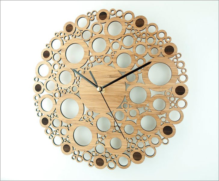 Geometric Circle Wall Clock