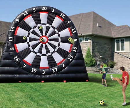 Giant Inflatable Soccer Dartboard