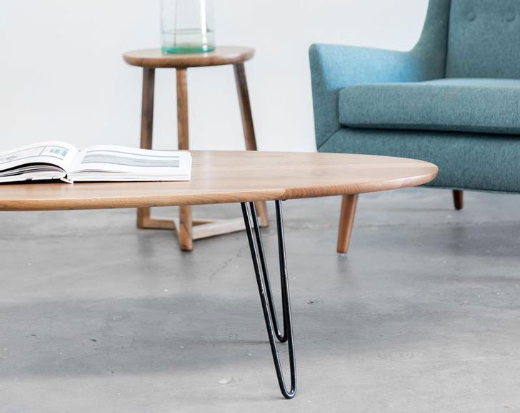 Gingko Surfboard Coffee Table