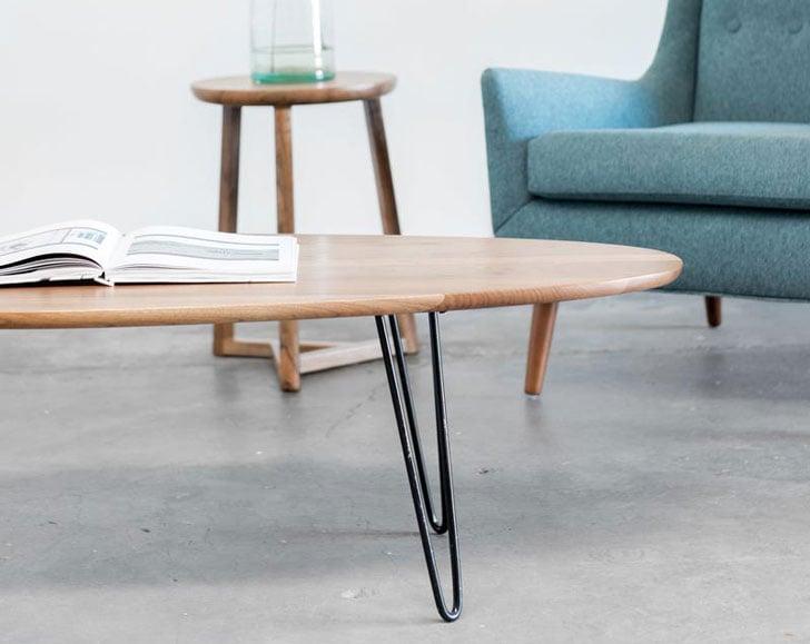 Gingko Surfboard Coffee Table