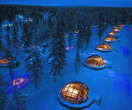 Glass Igloos Arctic Resort