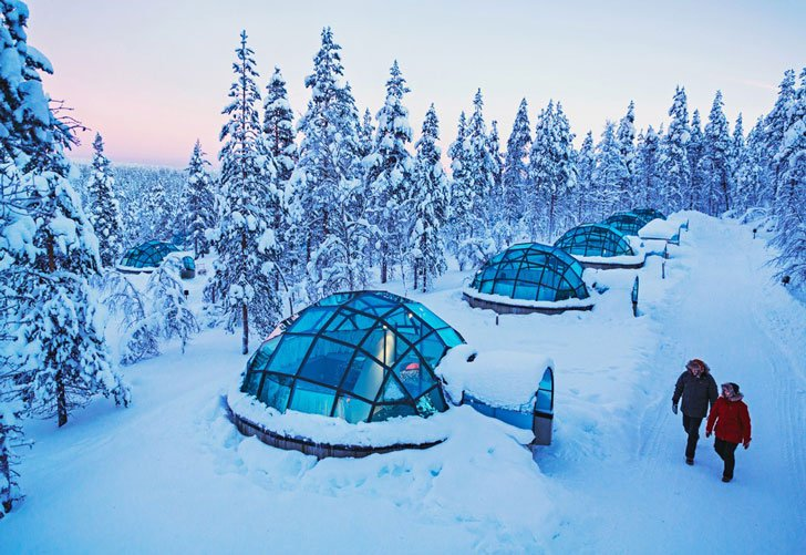 Glass Igloos Arctic Resort