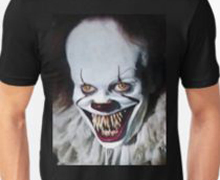 Halloween Scary Clown T-Shirt