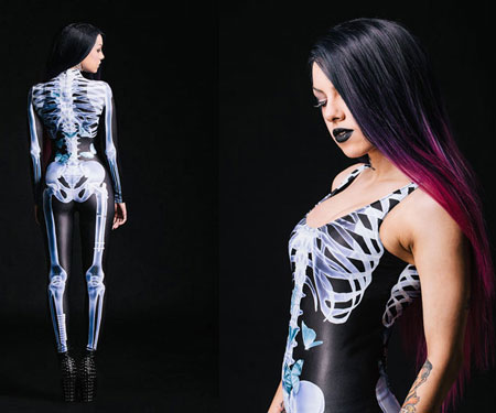 Halloween Skeleton Bodysuits