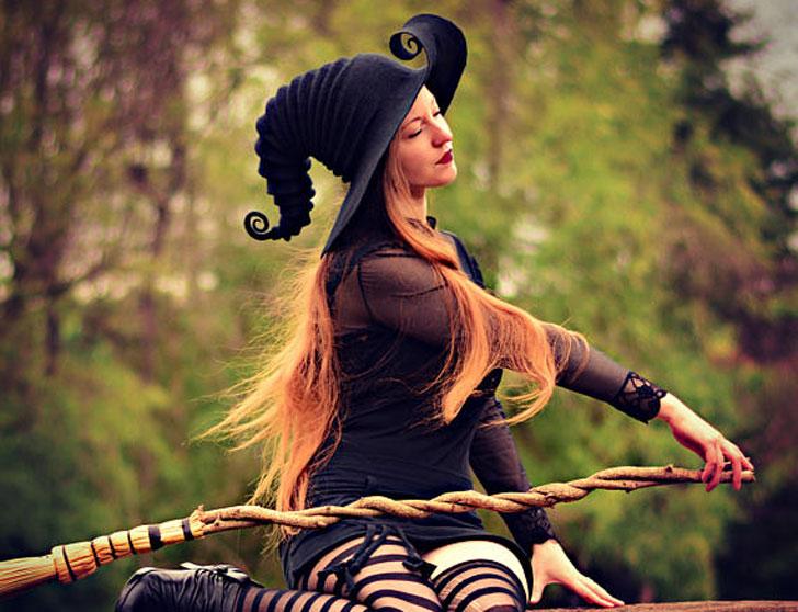 Handmade Halloween Costume Witch Hats