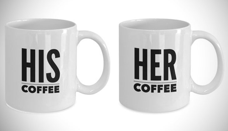 His Coffee Her Coffee Couples Mugs