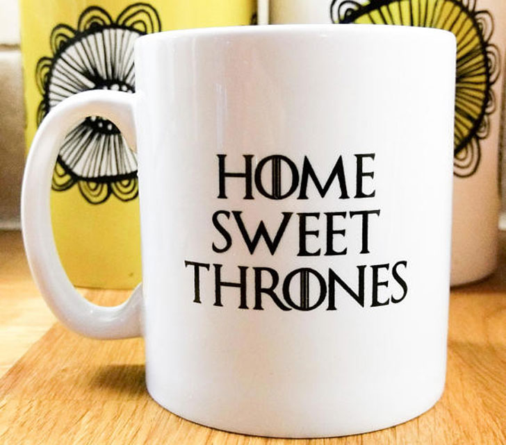Home Sweet Thrones Mug