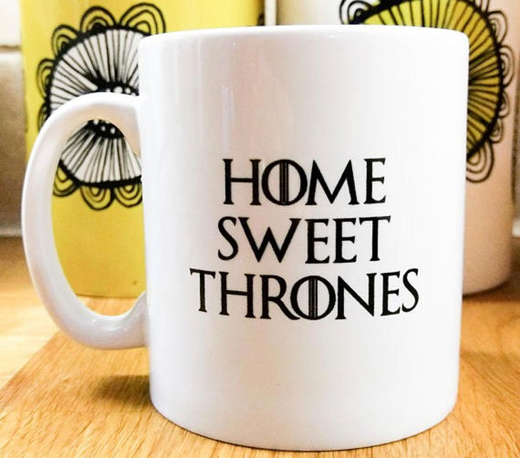 Home Sweet Thrones Mug