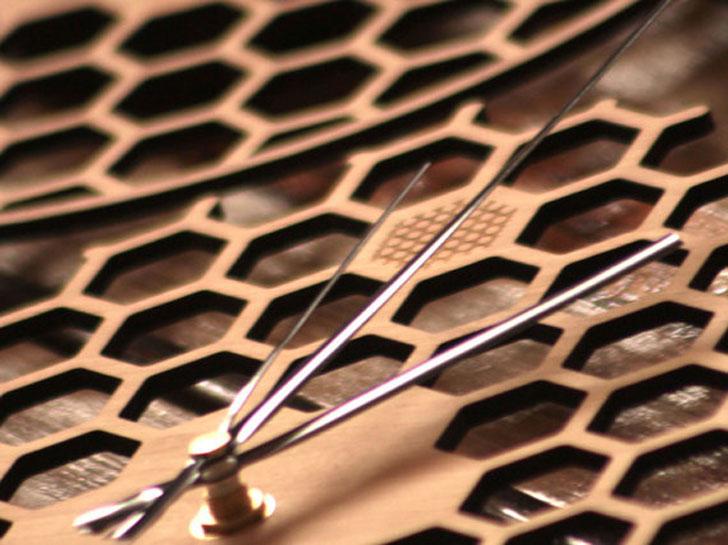 Honeycomb Wall Clock