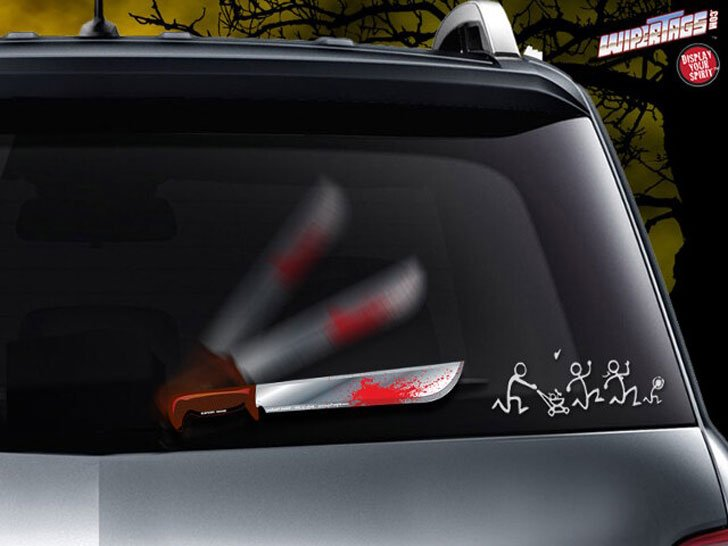 Humorous Wiper Blade Covers