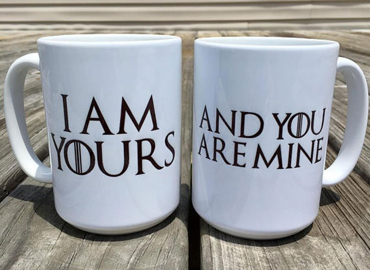I Am Yours, And You Are Mine Couples Coffee Mugs
