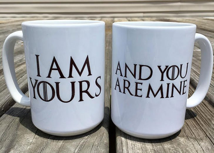 I Am Yours You Are Mine GOT Couples Mugs