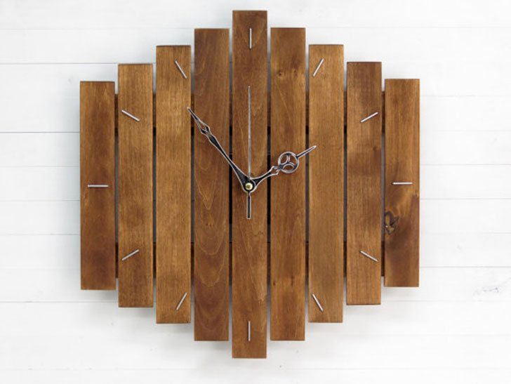 Industrial Big Romb Wall Clock