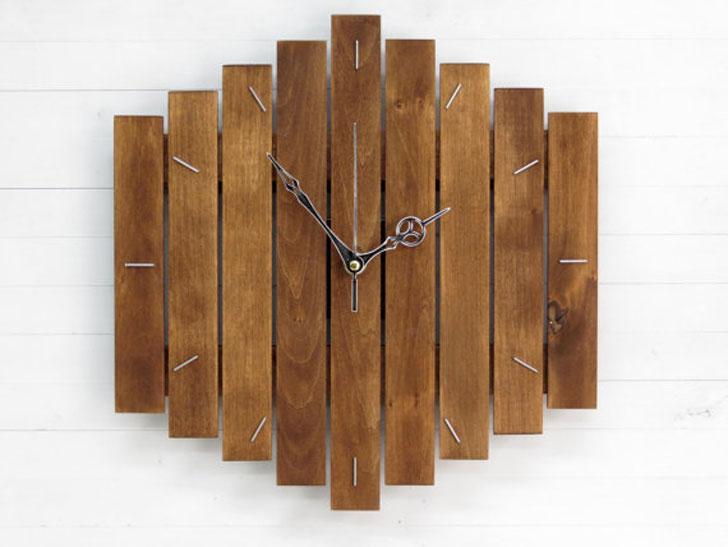 Industrial Big Romb Wall Clock