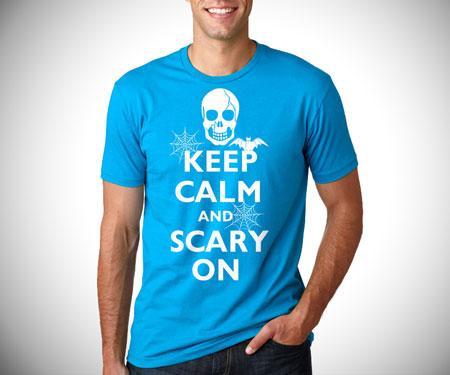 Keep Calm Halloween T-Shirt