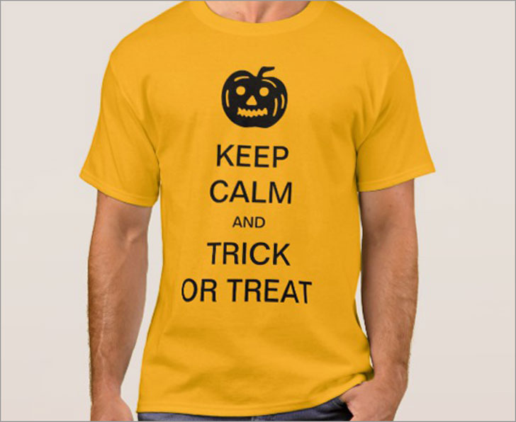 Keep Calm and Trick or Treat T-Shirt