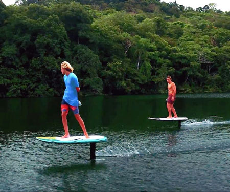 Lift Foils Motorised Surfboards