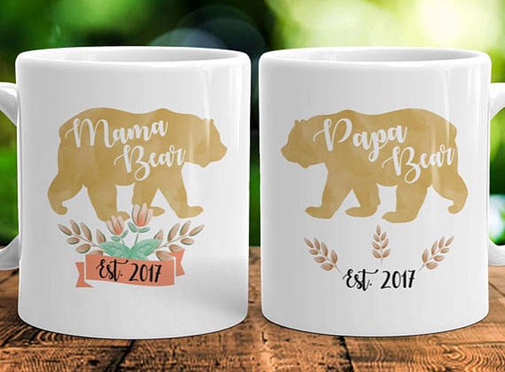 Mama Papa Bear Mugs