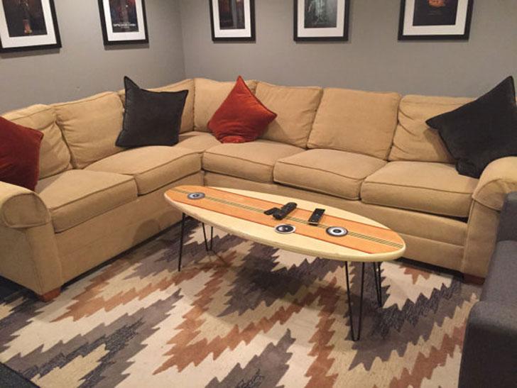 "Markersix 54"" Surround Coffee Table"