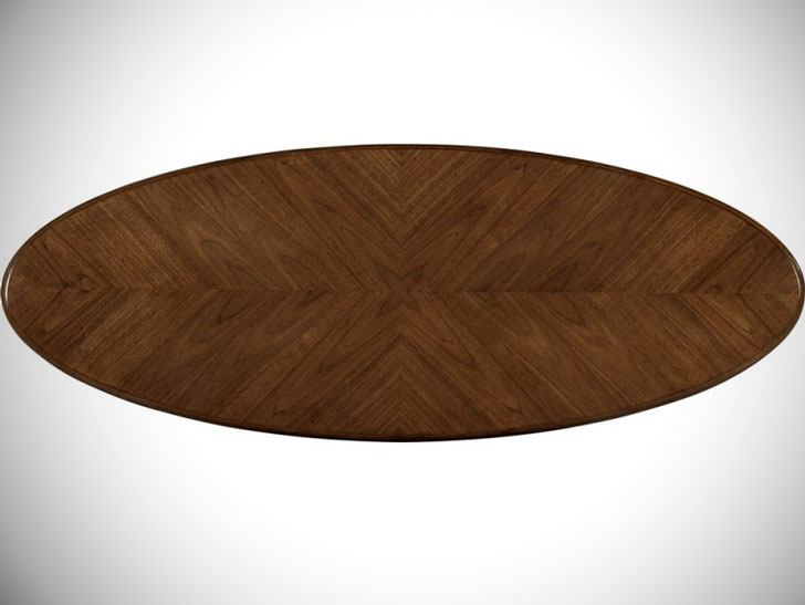 Mid Century Modern Surfboard Coffee Table