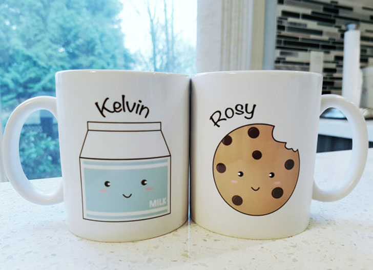 Milk and Cookies Mug Set