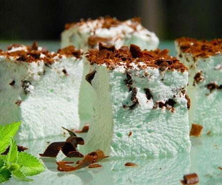 Mint & Dark Chocolate Gourmet Marshmallows