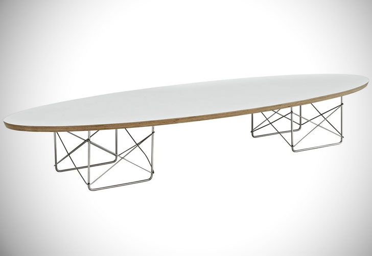 Modway Surfboard Coffee Table