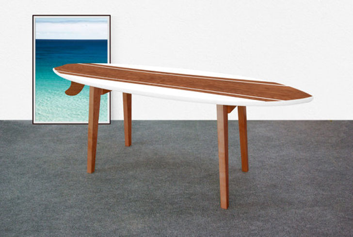 Monoculo Surfboard Coffee Table
